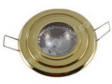Premium Flush Mount Overhead Halogen Light Polished brass SKU156