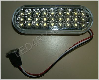 60 Series Oval back-Up Spot 27 LED Light LED627W SKU421