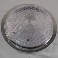 7 Inch Chrome LED Scare Light SKU1678