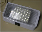 Patio Light 6 by 3.25 in Bright White with switch SKU256