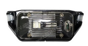 12 volt Exterior MotionScare Light in Black SKU2001