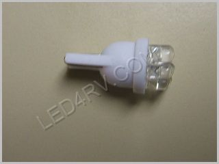 Bright White T10 wedge 7 LED light T10BW7Spot SKU328