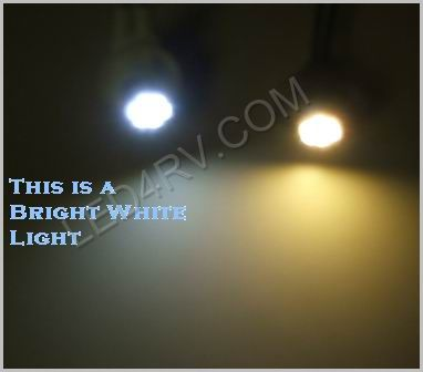 T-10 Bright White Light with 8 1210 SMD LEDs T10BW8-1210 SKU329