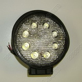 24 watt Bright White LED work light with Mounting Bracket SKU352