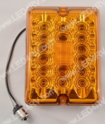 LED Amber upgrade Turn Signal 84- 85 Series Tail Light SKU1848