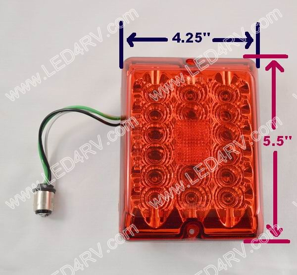 LED upgrade for 84 and 85 Series Tail Light SKU540
