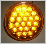 40 Series 4in. Round Amber LED Stop-Turn-Tail Lamp SKU436