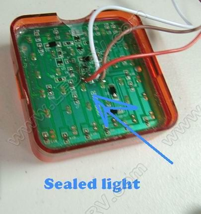 Sealed LED Stop Tail and Turn Light with Mnt Bracket STTB SKU320