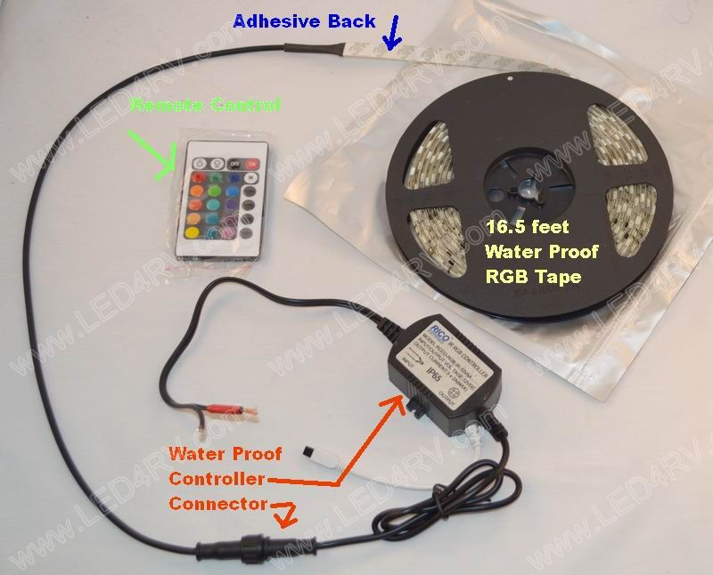 Ground Effects Kit RGB and Water Proof sku2210