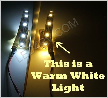 LED Warm White strip for repairing 12in light SKU342