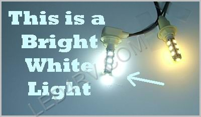 Bright White 13 LED T10 socket T10-13BW SKU322 - Click Image to Close