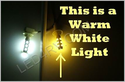 Warm White 13 LED T10 socket T10-13WW SKU323 - Click Image to Close