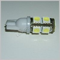 Bright White 9 LED T10 socket T10-9BW SKU325
