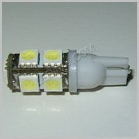 Warm White 9 LED T10 socket T10-9WW SKU326