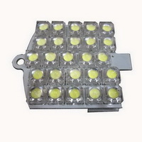T10 Warm White light with 25 Super Flux LEDs SKU663