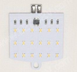 T10 Neutral White 18 LED sku2385