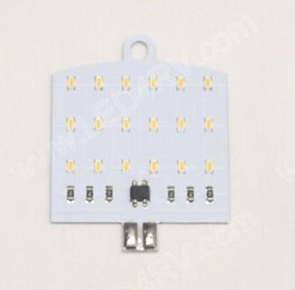 T10 Warm White 18 LED sku2384